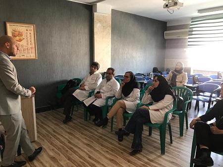 رسول اکرم، جلسه آموزشی عوارض آماده سازی داروهای پرخطر.jpg