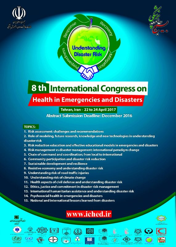 8th International Congress On Health in Emergencies and Disasters