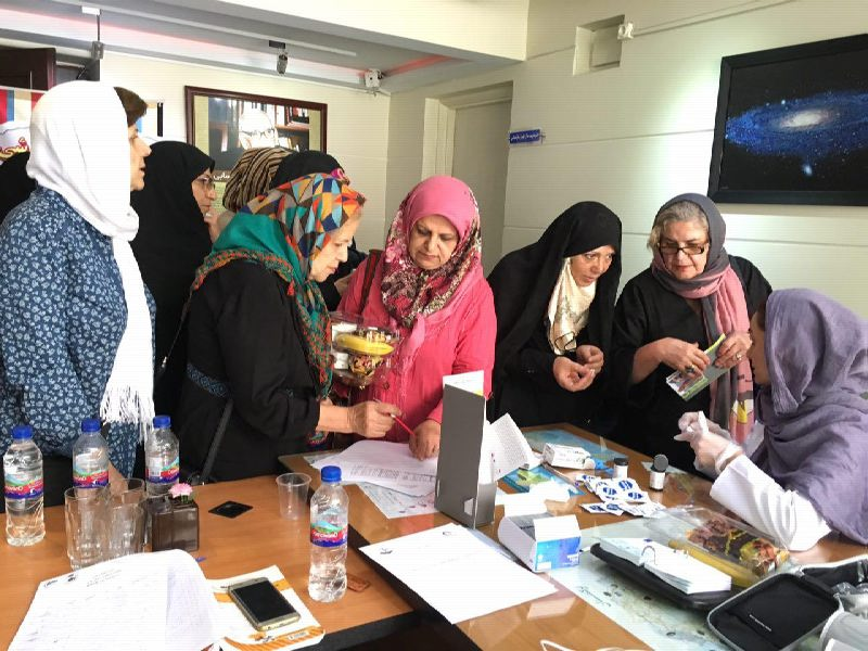 Stroke Prevention Educational Program and Free Screenings in 22 Tehran Districts